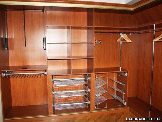 шкаф-купе изнутри